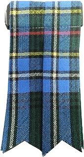 Ingles Buchan Mens Worsted Wool Scottish Tartan Sock Flashes