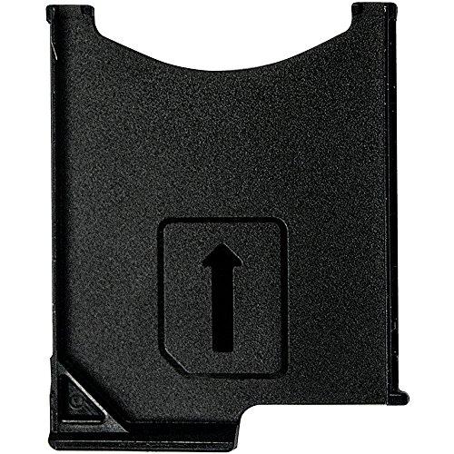 Original Sony Simkartenhalter black / schwarz für Sony C6602, C6603, C6606 Xperia Z (Sim Tray) - 1264-3045