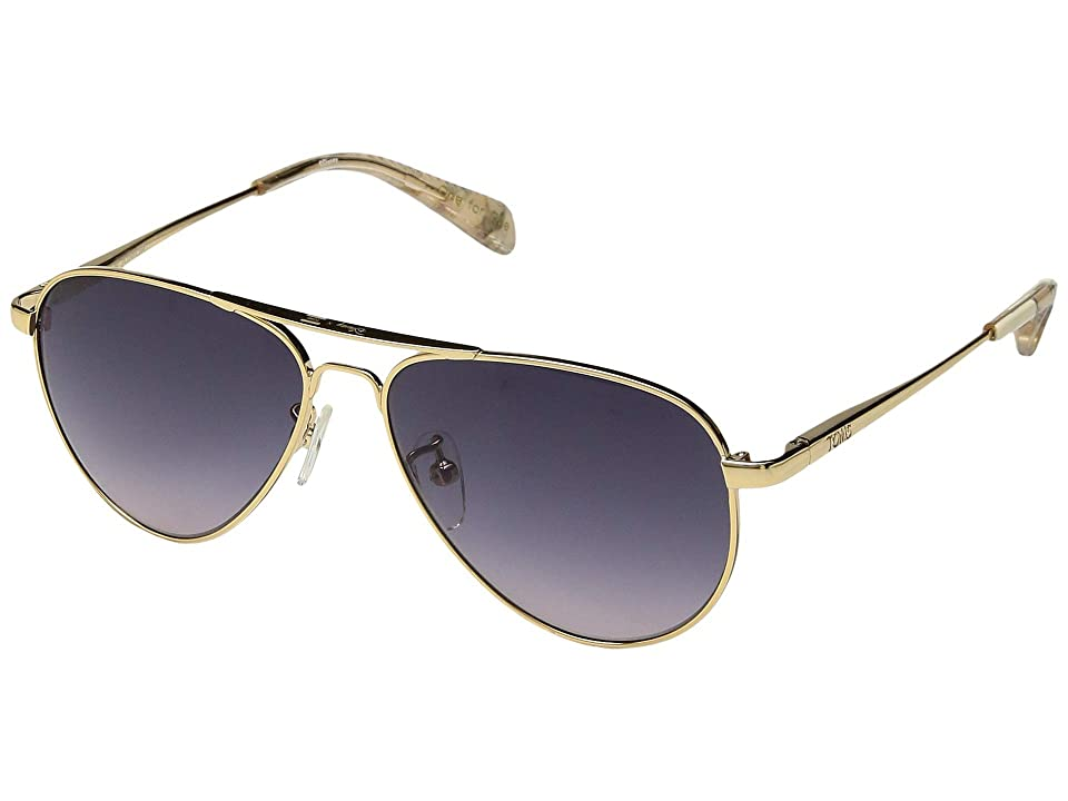 TOMS Disney(r) Maverick Junior (Shiny Gold) Fashion Sunglasses