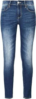 Armani Exchange Women's 8NYJ01Y3AAZBLUE Blue Cotton Jeans