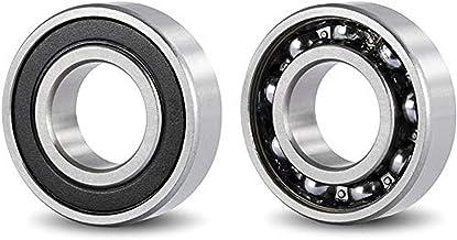 Nrpfell 6202Z Dual Metall Schilder Paar Tiefe Rille Radial Kugellager 15 x 35 x 11mm