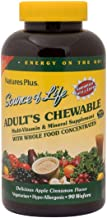 NaturesPlus Source of Life Adult Chewable Multivitamin - Apple Cinnamon Flavor - Natural Whole Foods Supplement - Overall ...