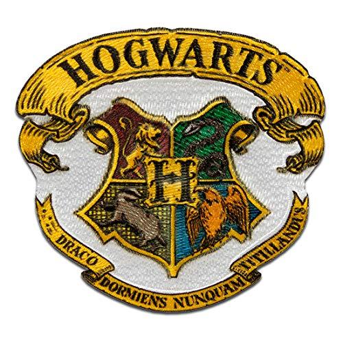 Stemma di Harry Potter © Hogwarts - Toppe termoadesive Patch Toppa ricamate