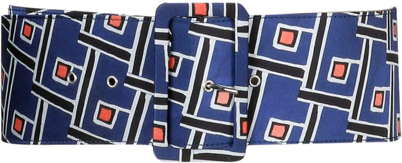 Malìparmi Women's CA002460009B8067 bluee Polyester Belt