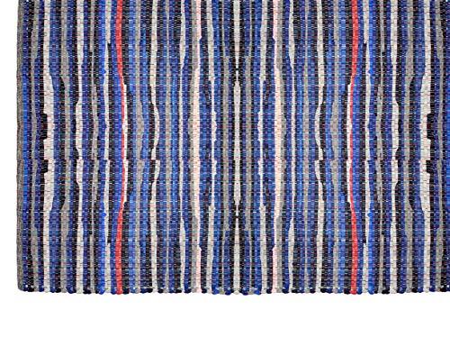 COTTON CRAFT Arya Handwoven Reversible Cotton Chindi Area Rug, 8' X 10', Multicolor