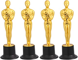 Amosfun trofeos de Oro Trofeo Oscar Trofeo Ganador del Premio trofeos de Copas para Ceremonia Regalo de Agradecimiento pre...