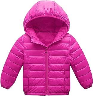 Happy Cherry Boys Down Winter Coat Thin Warm Removable Hood Zipper Puffer Jacket 3-9T