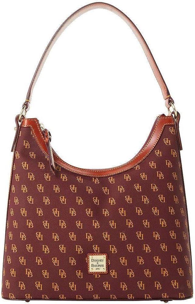 Dooney & Bourke Gretta Hobo Shoulder Bag Bordeaux