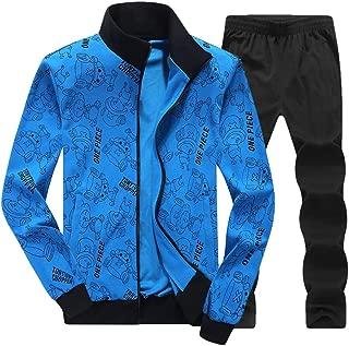 DeHolifer Herren Sportswear Herren Jogging Sportswear Sportswear Herren Sportswear Set Herren Trainingsanzug Herren Outdoor Sportanzug Herren Freizeitanzug M-4XL