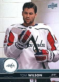 2017-18 Upper Deck Series 2 #440 Tom Wilson Washington Capitals Hockey Card