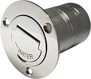 NRC&XRC 1-1/2(38mm) Boat Water Deck Fill/Filler with Keyless Cap 1-1/2 Marine 316 Stainless Steel Hardware for Boat Yacht Caravan