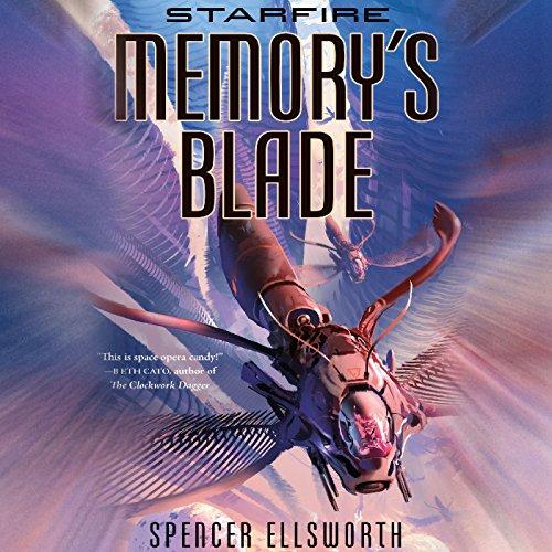 Memory's Blade audiobook cover art