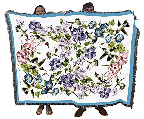 Hummingbirds - Helen Vladykina - Cotton Woven...