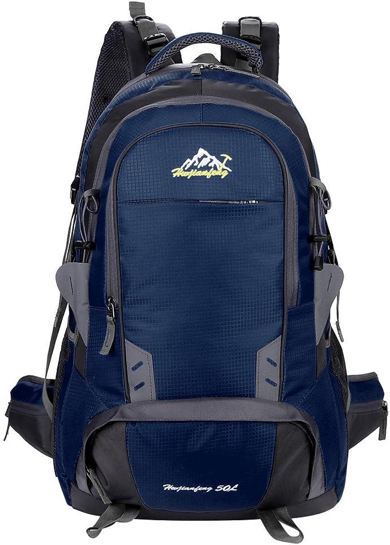 Hokorinica 50L Outdoor Camping Hiking Backpack Waterproof Nylon Sports Travel Bag