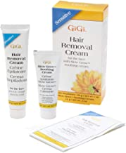 gigi hair removal cream for sensitive skin