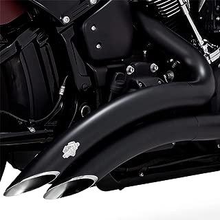 Vance & Hines 18-19 Harley FXBB Big Radius 2-Into-2 Exhaust (Black)