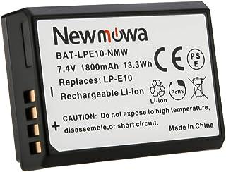 Newmowa LP-E10 バッテリー 1個 対応機種 Canon LP-E10 Canon EOS Rebel T3 T5 T6 T7 1100D 1200D 1300D 2000D 4000D EOS Kiss X50 EOS Kiss X70