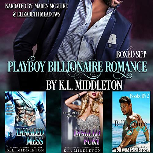 Playboy Billionaire Romance Boxed Set cover art