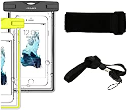 DFV mobile - Armband Protective Beach Case Underwater Waterproof Bag for INTEX Aqua Q7 Pro - Black