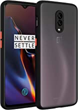 YES2GOOD Oneplus 7 Phone Case, Ultra [Slim Thin] Flexible TPU Soft Silicone Smoke Translucent Matte Protective Back Case Cover for Oneplus 7 (Smoke Black)