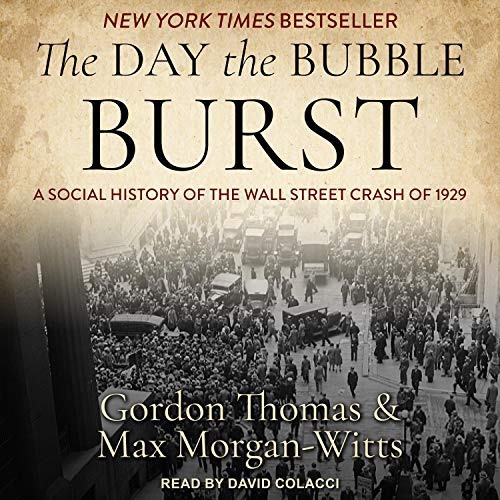 The Day the Bubble Burst cover art