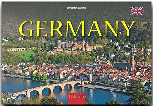 GERMANY - DEUTSCHLAND - Ein Panorama-Bildband mit über 200 Bildern - FLECHSIG: Ein Panorama-Bildband in englischer Sprache mit über 200 Bildern auf 256 Seiten (Panorama: Reisebildbände)