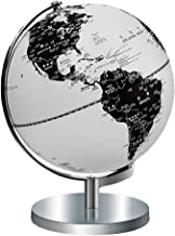Globes/Stand-Educational Globe Creative Black and White HD Chinese and English Globe, Study Lamp Globe, Suitable for Junior High School Students World Globe (Color : A)