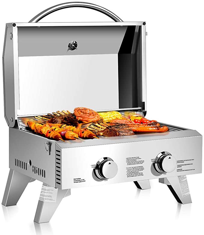 Giantex Propane Tabletop Gas Grill – Best Tailgating Grill