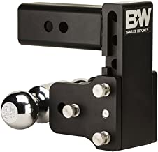 B&W Tow & Stow 5in Drop 4.5in Rise 2x2 5/16in Dual Ball Size Hitch