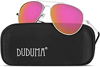 7161c78a78a Duduma Aviator Sunglasses for Mens Womens Mirrored Sun Glasses Shades with  Uv400