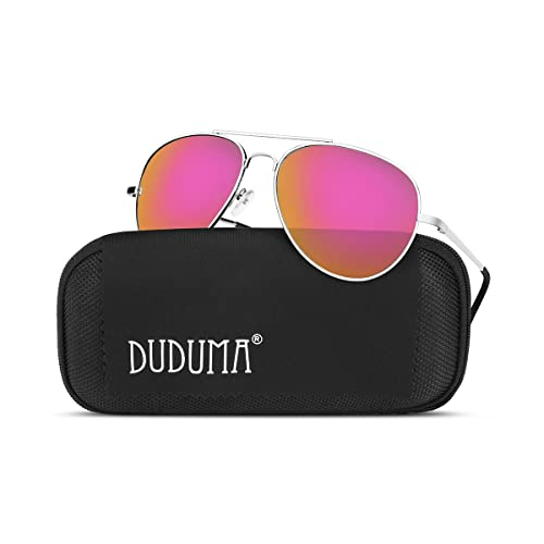 b937e5d6d44 Duduma Aviator Sunglasses for Mens Womens Mirrored Sun Glasses Shades with  Uv400