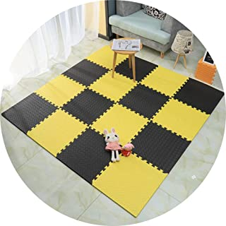 LIQICAI Kids Play Mat Multi-Color Puzzle Exercise Mat EVA Foam Floor Safe Playmat Easy To Store Waterproof Anti-noise (Col...