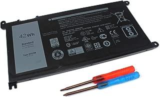 LNOCCIY 42WH WDX0R Laptop Battery for Dell Inspiron 13-5378 13-7368 14-7460 15-5568 5567 7560 7569 17-5770 Inspiron 13 5379 Inspiron 15 7570 WDXOR 3CRH3
