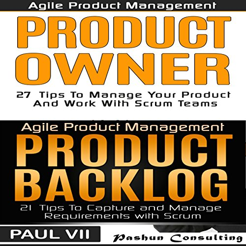 Agile Product Management and Product Owner Box Set audiobook cover art