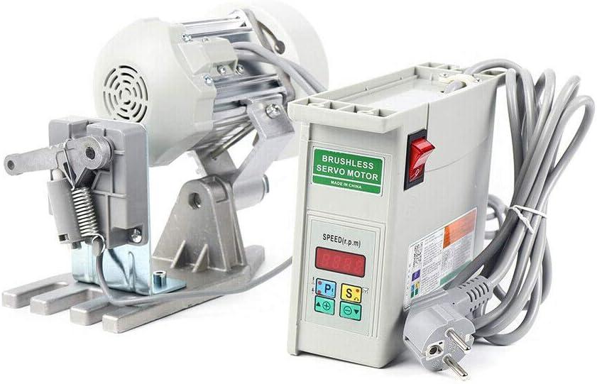 Servomotor para máquina de coser industrial, motor de máquina de coser Servo Motor Industrial Sewing Machine máquina de coser 650W/750W 500-4000 (RPM)/500-3500 (RPM) (750W)