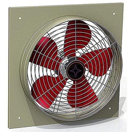 400mm Ventilador Industrial 4500m3/h Ventilación Extractor Ventiladores industriales Axial axiales extractores aspiracion mura pared