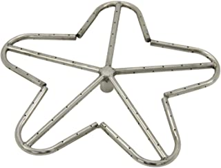 Hearth Products Controls (HPC Penta Fire Pit Burner (PENTA18-NG), 18-Inch, Stainless Steel, Natural Gas