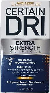 CERTAIN DRI Anti-Perspirant Solid 1.7 oz (Pack of 6)