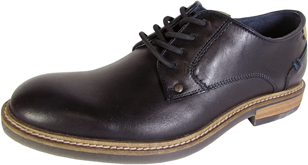 Steve Madden Mens Barton 2 Lace Up Leather Oxford Shoes