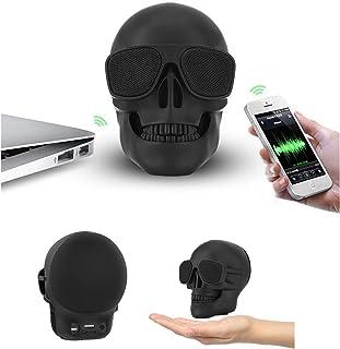 $63 » Skull Head Shape Bluetooth Speakers Portable Halloween Skeleton 15W BT4.0 FM Radio Wireless Speaker for Desktop PC/Laptop ...