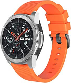 Watch Band,Cinhent Sport Soft Silicone Replacement Strap for Samsung Galaxy Watch 46mm