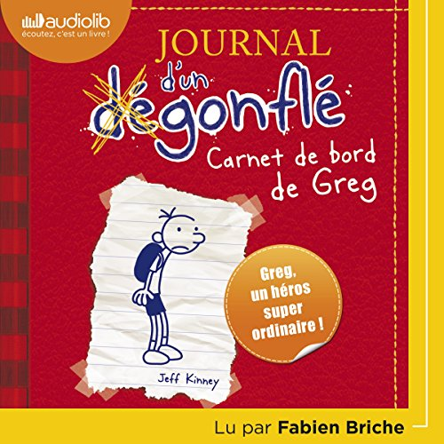 Carnet de bord de Greg Heffley cover art