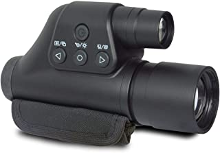 Night Owl Optics Night Scope 3-Power Digital Night Vision Monocular with Digital Zoom - Take Pictures or Video in The Dark