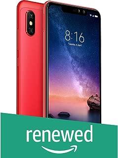 (Renewed) Redmi Note 6 Pro 64GB (Red, 6GB RAM)