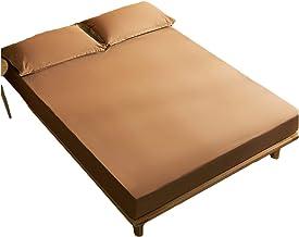 Cotton Mattress Encasement Premium Waterproof Breathable Mattress Protector Cover Adjustable Abrasion Resistant (30cm Dee...