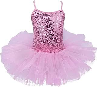 iiniim Kids Girls' Sequined Camisole Ballet Tutu Dress Ballerina Leotard Outfit Dance Wear Costumes