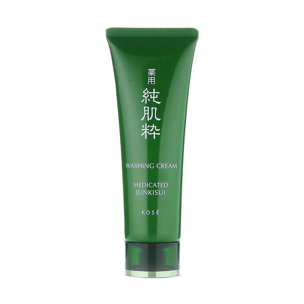 ストリーム味わうパースブラックボロウ薬用 純肌粋 洗顔クリーム 120g <24304>