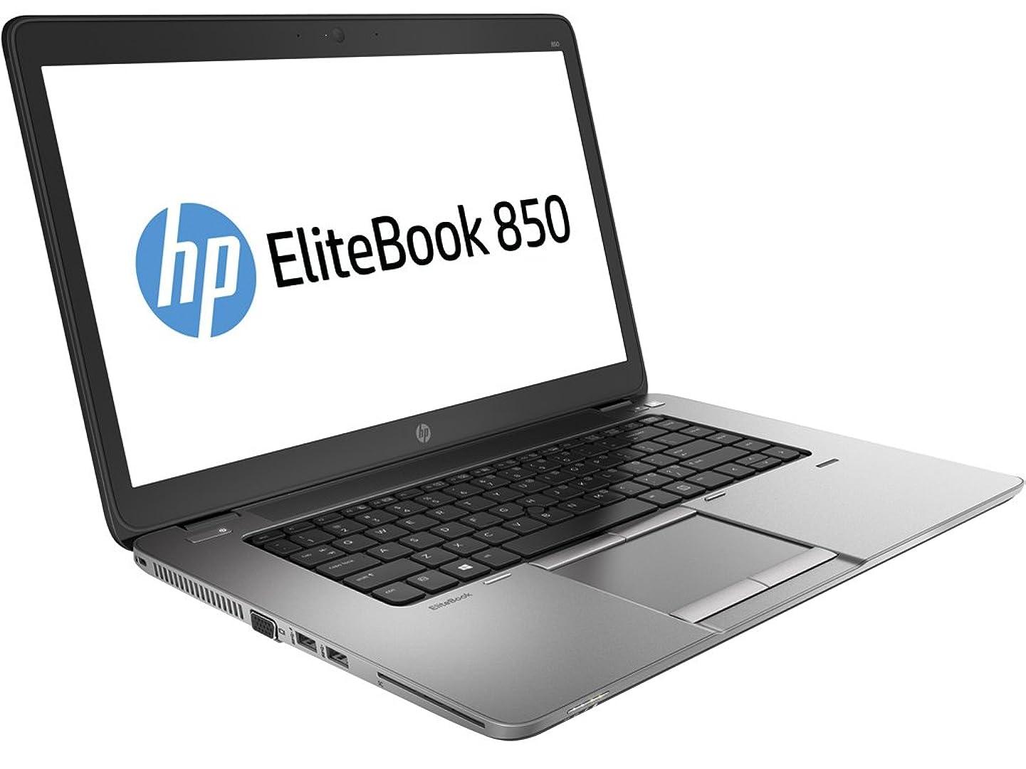 HP EliteBook 850 G2 15.6in Laptop, Core i5-5200U 2.2GHz, 8GB Ram, 256GB SSD, Windows 10 Pro 64bit (Renewed)