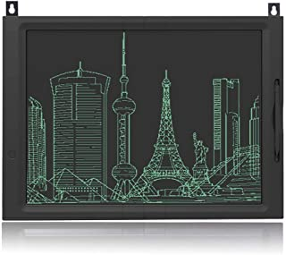 NOUDOO Tableta de Escritura LCD, 20 Pulgadas LCD eWriter Tableta portátil LCD Almohadilla Bloqueo Tablero de Dibujo para Niños