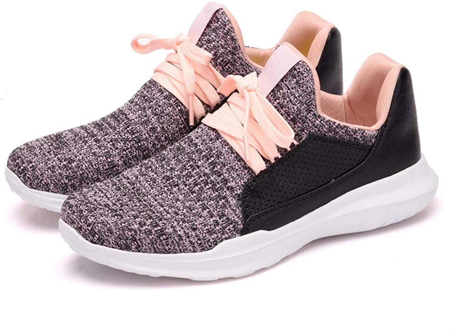 T-JULY Fashion Sneakers Sports shoes for Women Flat Slip-on Dress Footwear Leather Splicing Comfy Leisure Loafers